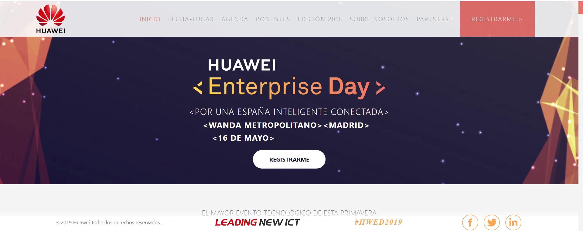 Huawei pasa de las mujeres
